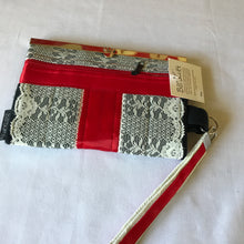 Ladies Victorian Wallet with Cell Phone Pocket and Credit Card Holders, Barbz.net