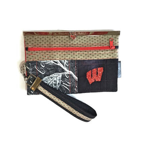 "SOLD ""Motion W"" Woman Wallet-Wristlet-Purse - Wallet Deluxe"