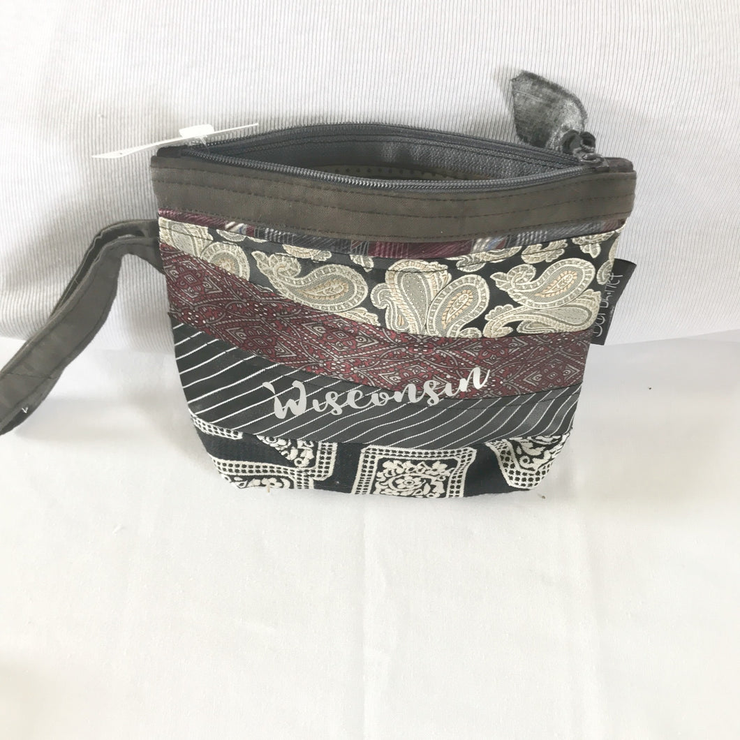 Wisconsin Small Purse, Jewelry Case, Small Zipper Pouch, Barbz.net