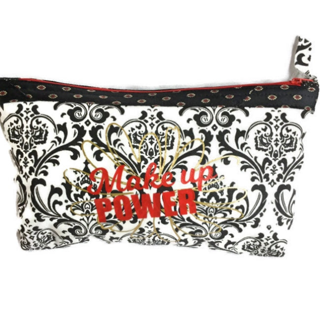 Cosmetic Makeup Bag, Makeup Case, Makeup Pouch, Makeup Power, Barbz.net