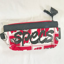 Red and White Wisconsin Glasses Case - Spec Alert - Barbz.net