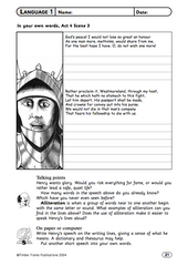 Henry V - Teacher's Book