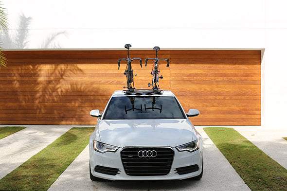 CAR ROOF MOUNTED UPRIGHT BICYCLE RACK CYCLE CARRIER FOR ALL MINI MODELS