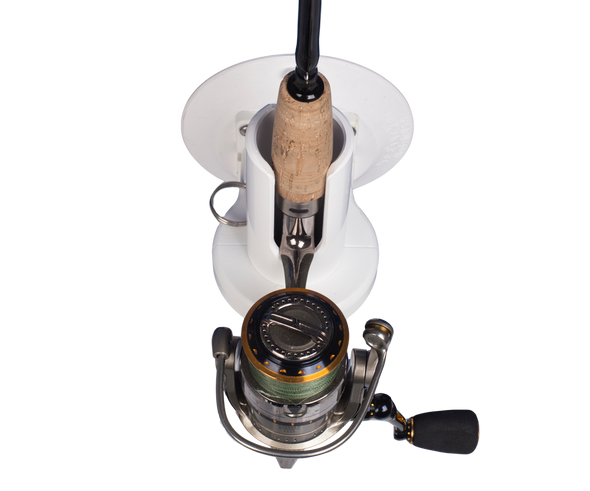 Top view of Pro Series Single Rod Holder