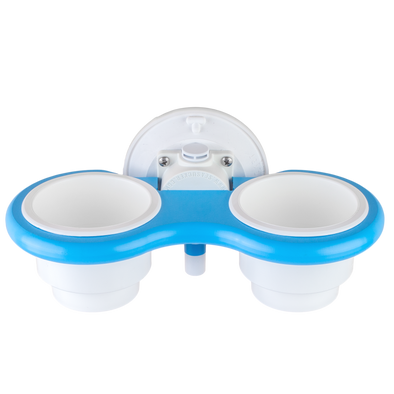 Blue Collection 2-Cup Holder - Vertical Mount
