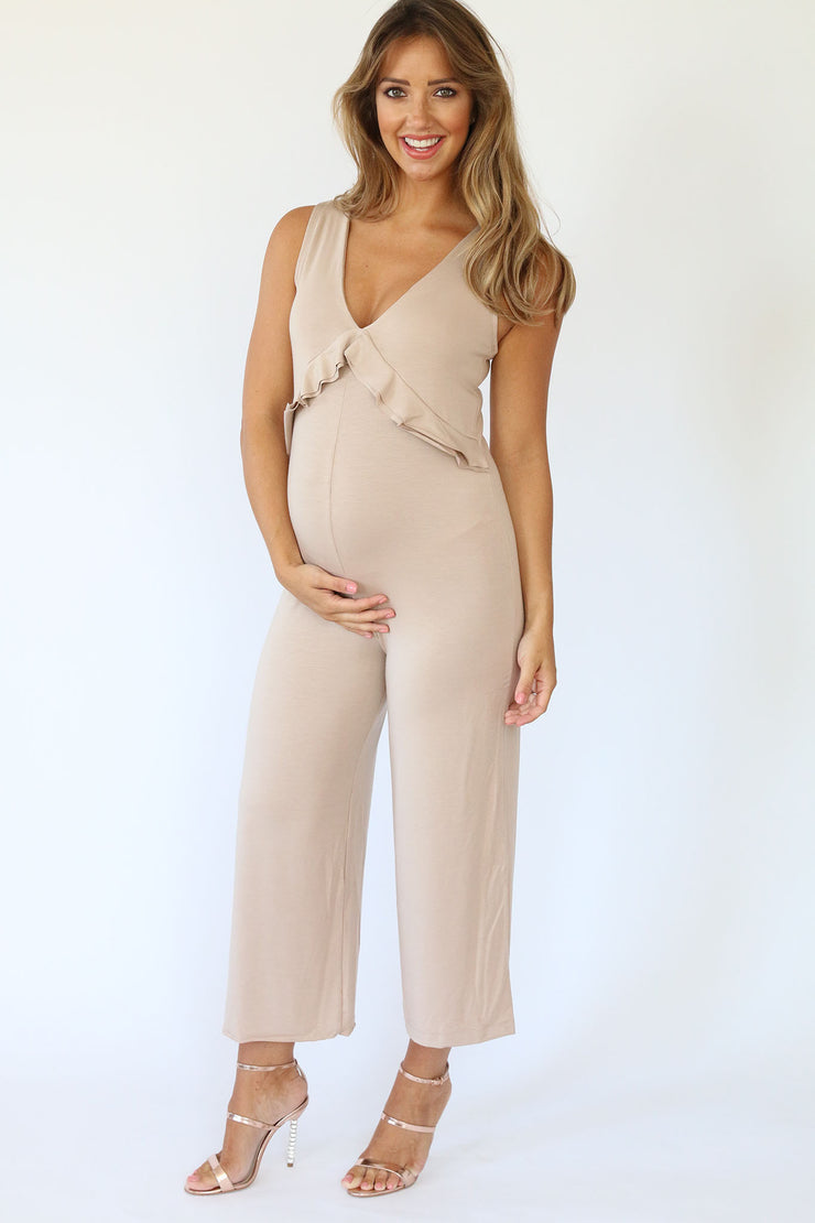 Maternity Penny Jumpsuit