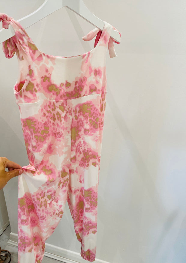 Mini Poppy Jumpsuit- Marble