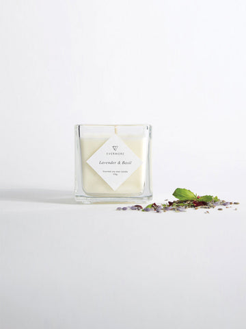 Lavender Basil Soy Candle