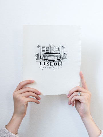 Lisbon Hand Illustration