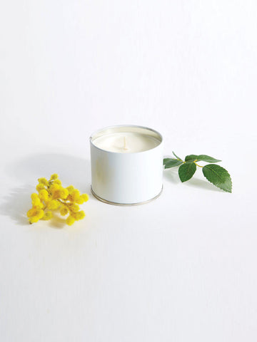 Mimosa Patchouli Travel Candle