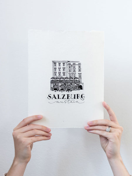 Salzburg Hand Illustration