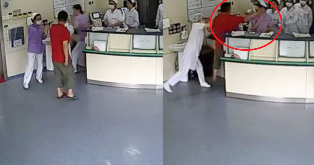 Man Punched On The Face Of Pregnant Nurse And The Rest is History