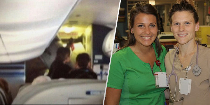 22 Year Old Nurse Saves Life Of Woman Who Suffered Heart Attack On Plane