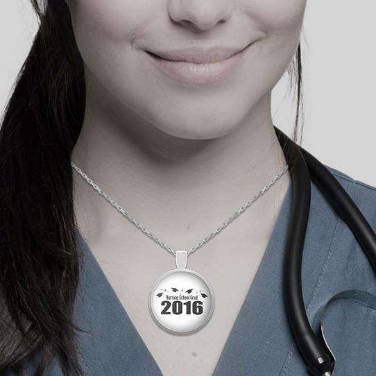 **23% Discount** Nursing Grad 2016 Necklace