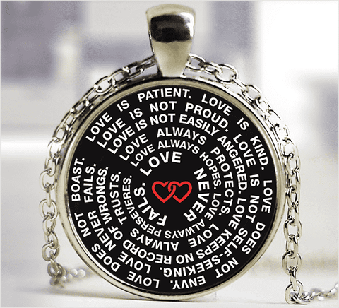 **28% Discount** Love Never Fails Necklace