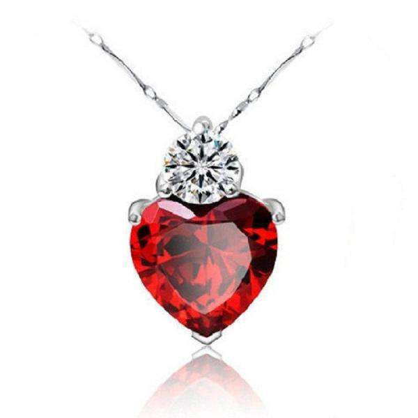 **38% Discount** Red Women's Crystal Necklace