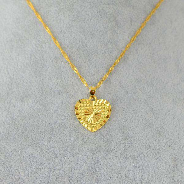 **32% Discount** Yellow Gold Plated Necklace