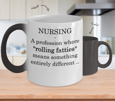 Nursing Rolling Fatties Mug