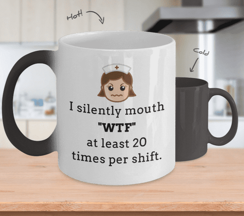 I Silently Mouth WTF Mug