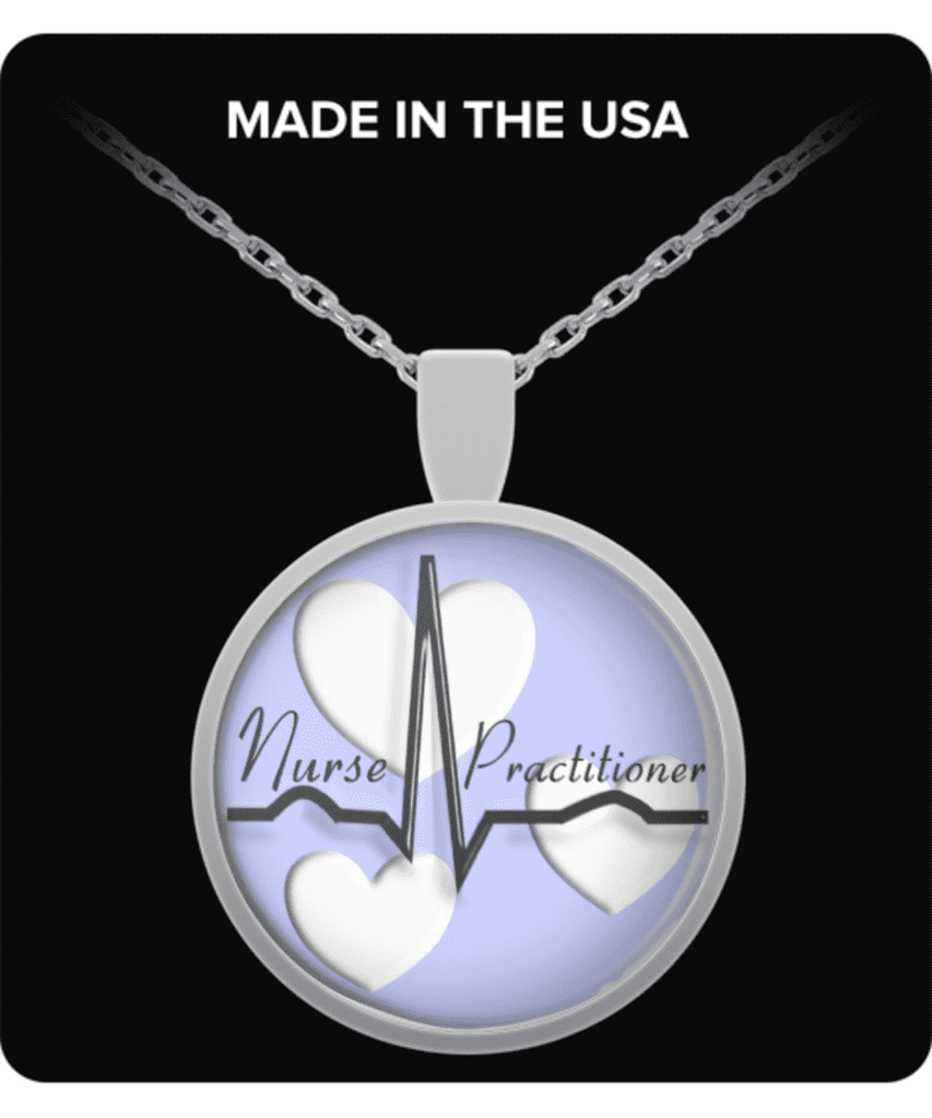 Nurse Practitioner Necklace - FREE SHIPPING!