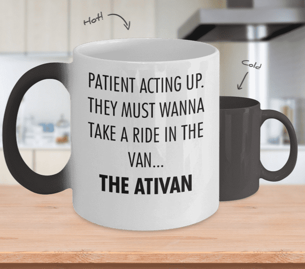 Patient Acting Up Mug
