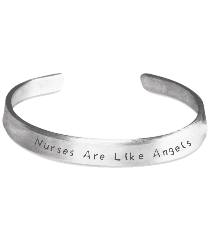 Nurses Are Like Angels Bracelet