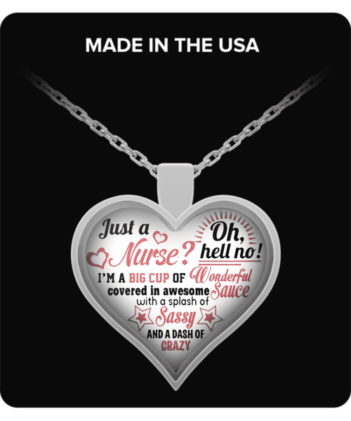 **27% Discount + Free Shipping**<br>Just A Nurse Necklace!