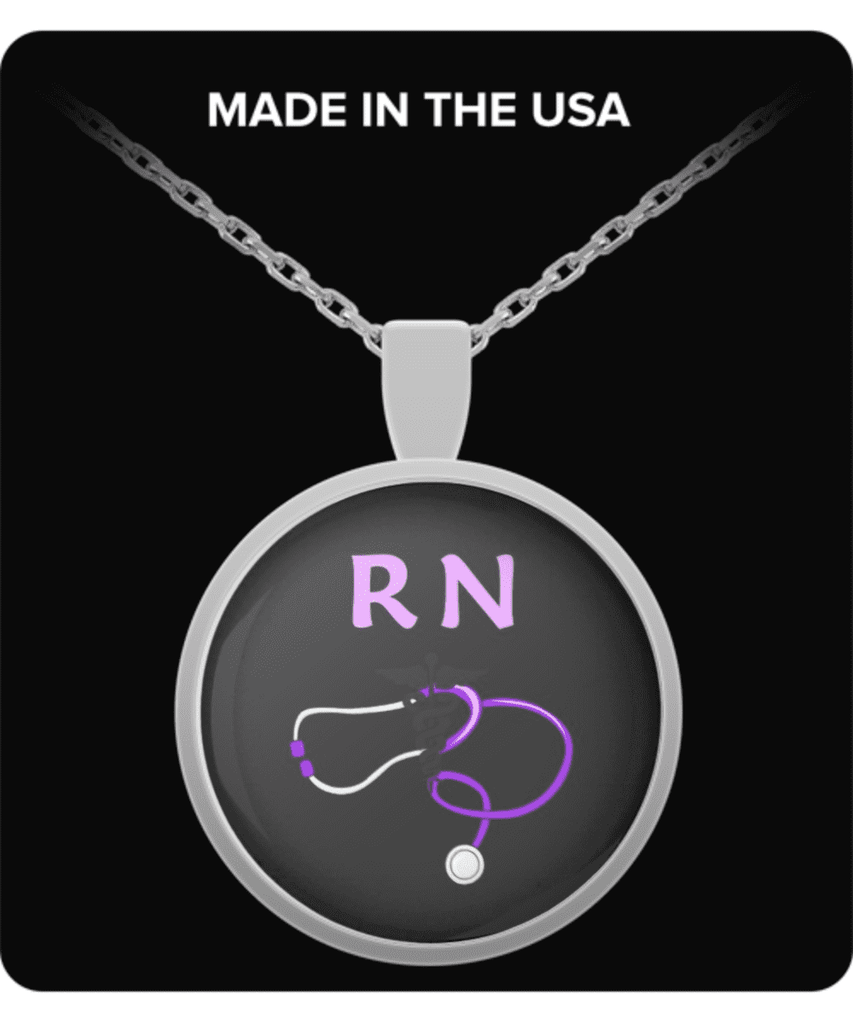 Registered Nurse Necklace - FREE SHIPPING!