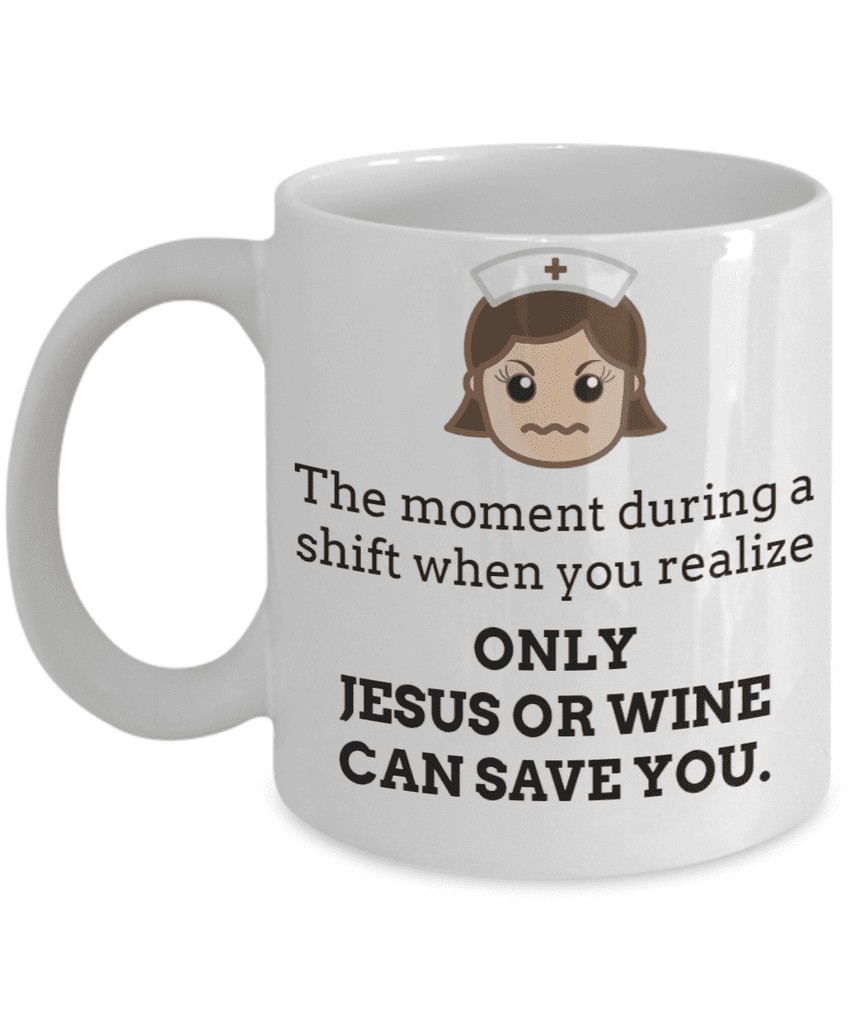 **26% Discount** Jesus Or Wine Can Save Mug