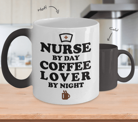 Nurse by Day Coffee Lover By Night