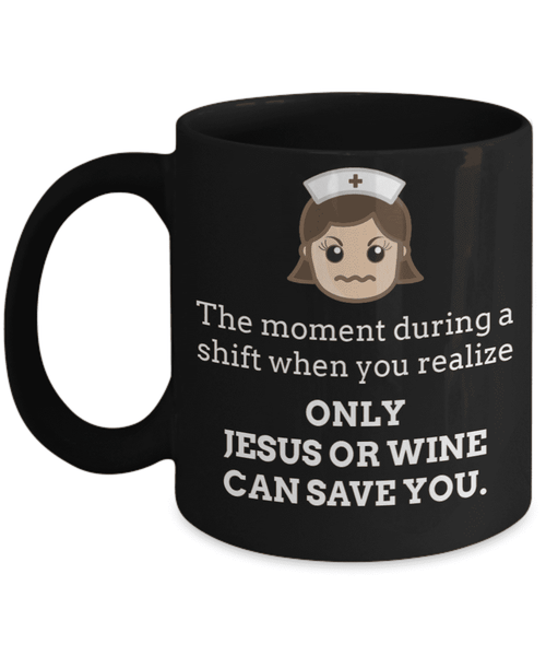 **19% Discount** Only Jesus Or Wine Mug