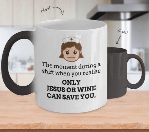 Jesus OR Wine Can Save You