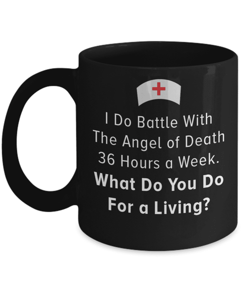**20% Discount** Battle With the Angel of Death