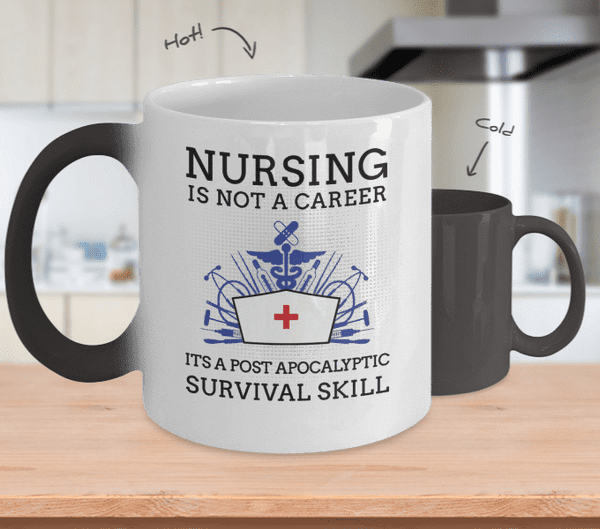 Nursing Is Not A Career Mug