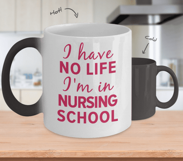 I Have No Life I'M In Nursing School Mug