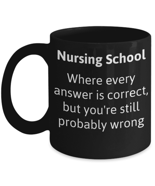 **23% Discount** Nursing School Mug