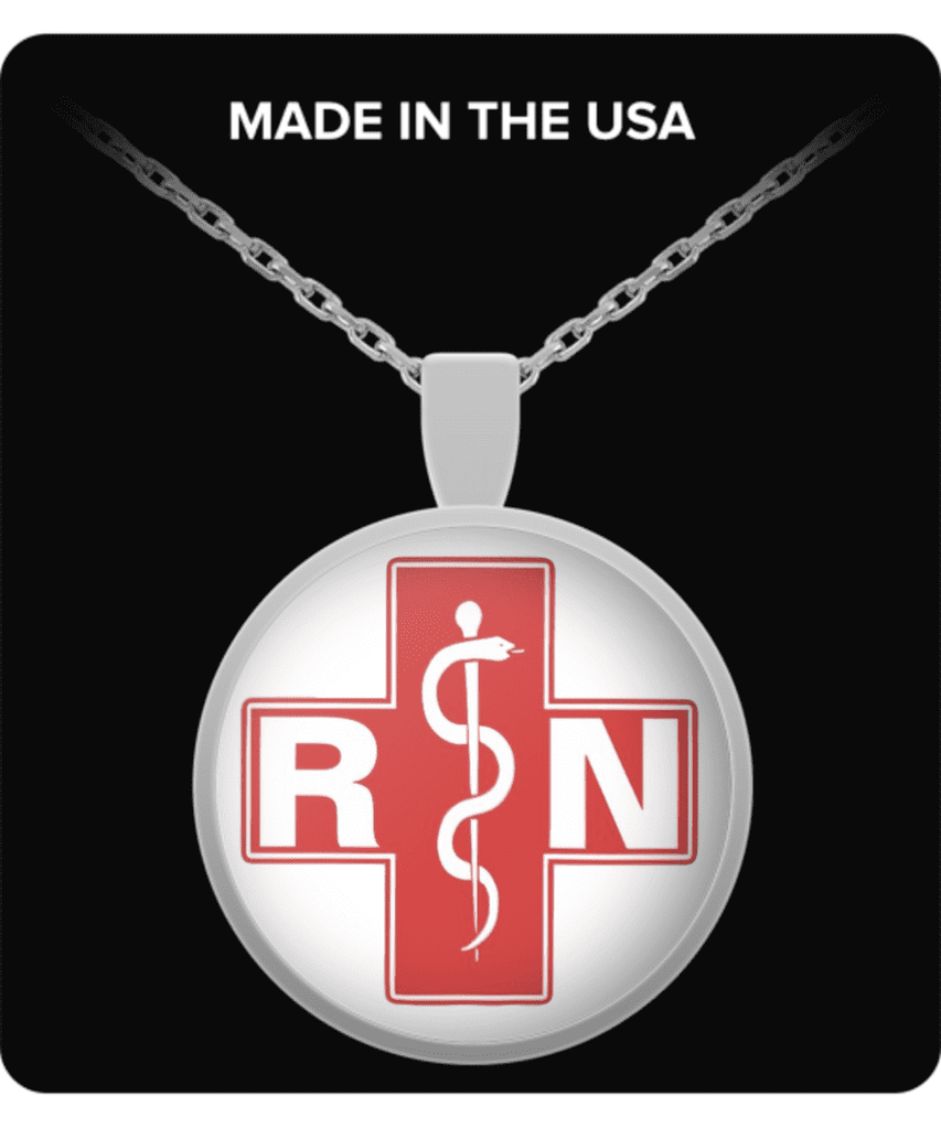 **31% Discount** Registered Nurse Necklace