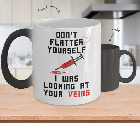 Don't Flatter Yourself Mug