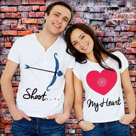 ♥♥ Shoot My Heart T-Shirt For Lovers ♥♥