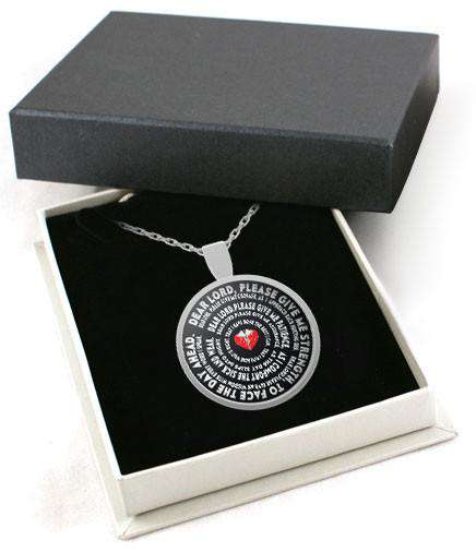 **20% Discount** Nurse Prayer Necklace