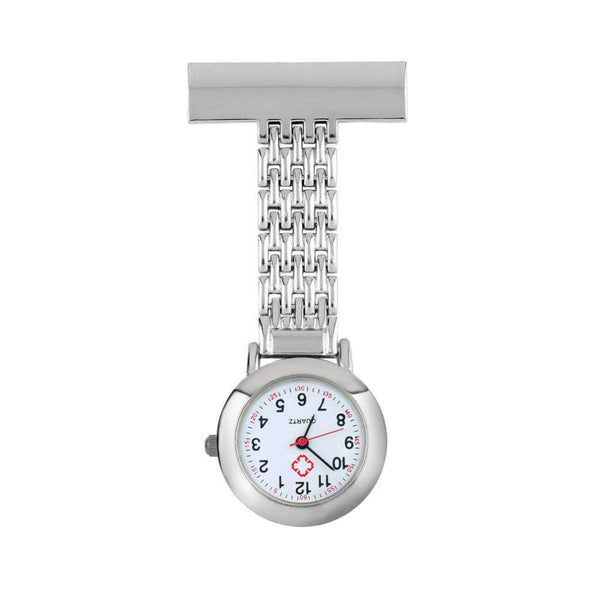 Stainless Steel Doctor Nurse Pocket Watch