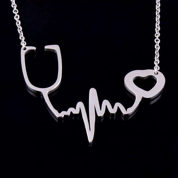 **25% Discount** Heartbeat Chain Necklace