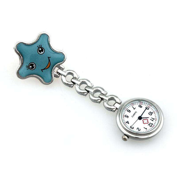 Clip-on Brooch Pendant Hanging Pocket Nurse Watch