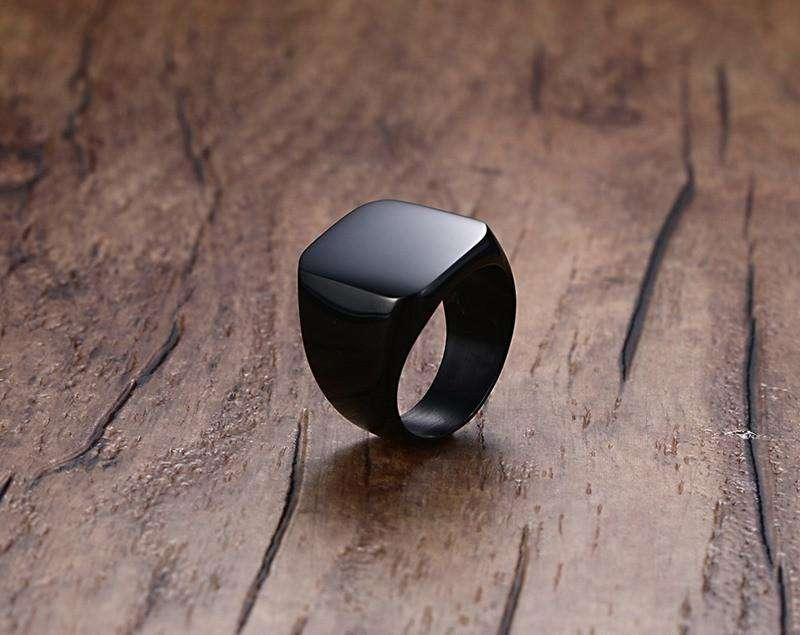 **41% Discount** Punk Black Engagement Ring