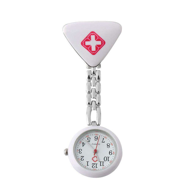 Red Cross Brooch Nurses Watch Fob Hanging Medical