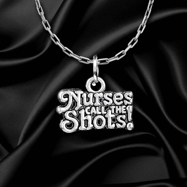 **46% Discount** Nurse Call The Shots Necklace