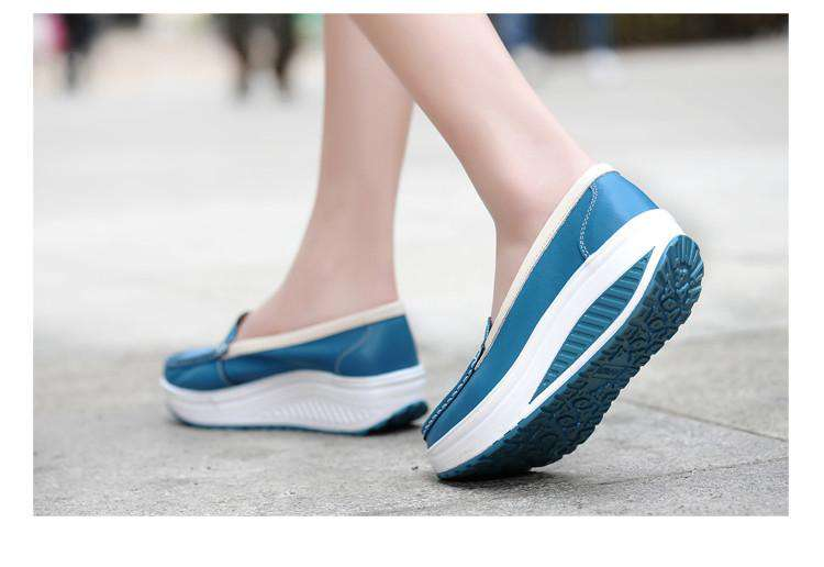 **Free Shipping** Comfort Low Heels Shoes