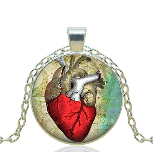 "<b class=""blink_me"">**39% Discount**</b><br>Heart Anatomy Necklace"