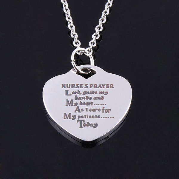 **28% Discount** Nurse's Prayer Necklace