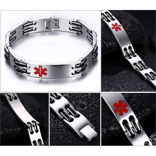 **18% Discount** Medical Alert ID Bracelet
